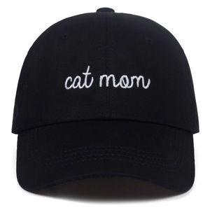 Cat Mom Baseball Hat